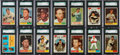 Baseball Cards:Lots, 1961 Topps Baseball SGC 92 NM/MT+ 8.5 Collection (142). ...