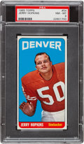 Football Cards:Singles (1960-1969), 1965 Topps Jerry Hopkins #54 PSA NM-MT 8 - None Higher....