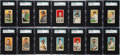 "Baseball Cards:Sets, 1909-11 T206 White Borders Partial Set (128 Different) - All ""PolarBear"" Brand Backs! ..."