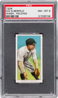 Baseball Cards:Singles (Pre-1930), 1909-11 T206 Sweet Caporal Kid Elberfeld, Wash., Fielding PSA NM-MT8. ...