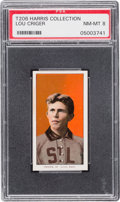 Baseball Cards:Singles (Pre-1930), 1909-11 T206 Piedmont Lou Criger (Harris Collection) PSA NM-MT 8....