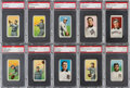 Baseball Cards:Lots, 1909-11 T206 Southern Leaguers PSA Graded Collection (10). ...