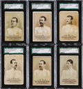 """Boxing Cards:General, 1887 N269 Lorillard's """"Prizefighters"""" Collection (9). ..."""