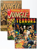 Golden Age (1938-1955):Horror, Terrors of the Jungle Group (Star Publications, 1952-54) Condition:Average GD.... (Total: 4 Items)