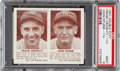 Baseball Cards:Singles (1940-1949), 1941 Double Play Crosetti/Strum #113-114 PSA Mint 9 - Pop Three, None Higher. ...