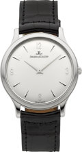 Timepieces:Wristwatch, Jaeger LeCoultre Ref. 145.2.79.S Master Control Ultra ThinStainless Wristwatch. ...