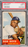 Baseball Cards:Singles (1950-1959), 1953 Topps Bob Boyd #257 PSA Mint 9 - A High-Numbered ConditionRarity! ...