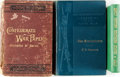 Books:Americana & American History, [Confederacy, Civil War] Group of Three Books about the Confederacyand the Civil War. Various publishers and dates. Origina... (Total:3 Items)