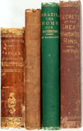 Books:Americana & American History, [The South] Group of Four Books about the South and Brazil. Variouspublishers and dates. 1850-1880. Original cloth bindings... (Total:4 Items)