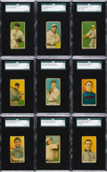 Baseball Cards:Lots, 1919 T213-3 Coupon Cigarettes SGC Partial Set (18/70) With SevenHoFers! ...