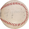 Autographs:Baseballs, 1934 Cy Young Multi Signed Baseball....