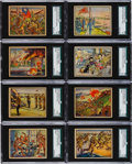 Non-Sport Cards:Sets, 1938 Horrors Of War Partial Set (205/288). ...