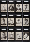 Football Cards:Sets, 1963 Kahn's Football High Grade Partial Set (46/92). ...