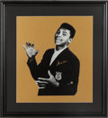 Boxing Collectibles:Autographs, 1990's Muhammad Ali Signed Photograph Display. ...