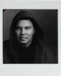 Boxing Collectibles:Autographs, 2000's Muhammad Ali Signed Oversized Photograph & Up-ClosePersonal Print. ...