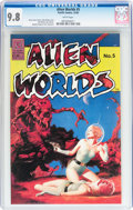 Modern Age (1980-Present):Science Fiction, Alien Worlds #5 (Pacific Comics/Eclipse, 1983) CGC NM/MT 9.8 Whitepages....