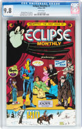 Modern Age (1980-Present):Science Fiction, Eclipse Monthly #1 (Eclipse, 1983) CGC NM/MT 9.8 White pages....