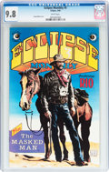 Modern Age (1980-Present):Miscellaneous, Eclipse Monthly #5 (Eclipse, 1984) CGC NM/MT 9.8 White pages....