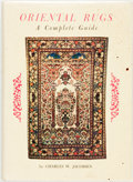 Books:Reference & Bibliography, Charles W. Jacobson. Oriental Rugs a Complete Guide. Tokyo:Charles E. Tuttle, [1975]. Later printing. Publisher's c...