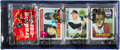 Baseball Cards:Unopened Packs/Display Boxes, 1969 Topps Baseball Rack Pack With Al Oliver Rookie Card Showing!...