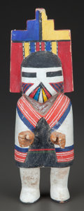 American Indian Art:Kachina Dolls, A HOPI COTTONWOOD KACHINA DOLL...