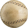 Autographs:Baseballs, 1920's John McGraw Single Signed Baseball....