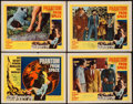 """Movie Posters:Science Fiction, Phantom from Space (United Artists, 1953). Title Lobby Card andLobby Cards (3) (11"""" X 14""""). Science Fiction.. ... (Total: 4 Items)"""
