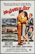 """Movie Posters:Action, The Lively Set (Universal, 1964). One Sheet (27"""" X 41"""") & Lobby Card Set of 8 (11"""" X 14""""). Action.. ... (Total: 9 Items)"""