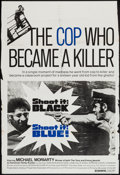 "Movie Posters:Exploitation, Shoot It Black, Shoot It Blue (Levitt-Pickman, 1974). Trimmed OneSheet (27"" X 40.5"") & Photos (8) (8"" X 10""). Exploitation....(Total: 9 Items)"