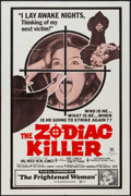 "Movie Posters:Horror, The Zodiac Killer & Other Lot (Audubon, 1971). One Sheets (2)(27"" X 41""). Horror.. ... (Total: 2 Items)"