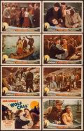 "Movie Posters:Adventure, Wolf Call (Monogram, 1939). Lobby Card Set of 8 (11"" X 14"").Adventure.. ... (Total: 8 Items)"