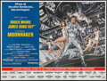 "Movie Posters:James Bond, Moonraker (United Artists, 1979). Subway (45"" X 59""). James Bond....."