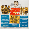 "Movie Posters:Rock and Roll, Mister Rock and Roll (Paramount, 1957). Six Sheet (78"" X 79""). Rockand Roll.. ..."