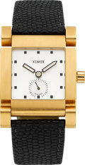 "Timepieces:Wristwatch, Xemex Rose Gold ""Design Kulling"" Unusual Automatic. ..."