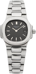 Timepieces:Wristwatch, Patek Philippe Ref. 4700/1 Lady's Steel Nautilus. ...