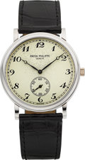 Timepieces:Wristwatch, Patek Philippe Ref. 5022G-012 Fine 18k White Gold Wristwatch, circa2000. ...
