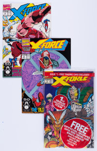 X-Force #1-4 Box Lot (Marvel, 1991) Condition: Average NM-