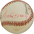 Autographs:Baseballs, 1960's Walter O'Malley Single Signed Baseball....