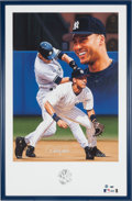 Autographs:Others, Circa 2000 Derek Jeter Signed Limited Edition Lithograph withRemarque....