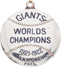 Baseball Collectibles:Others, 1923 New York Giants Silver Season Pass....