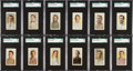 Baseball Cards:Sets, 1910-11 M116 Sporting Life Baseball Partial Set (131 Different)....
