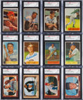 Autographs:Sports Cards, Signed 1953, 1954 & 1955 Bowman Baseball Card Collection (175+)....