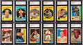 Autographs:Sports Cards, Signed 1959, 1960 and 1961 Topps Baseball Card Collection(500+)....