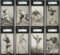Football Cards:Sets, 1948-52 W468 Football Exhibit Partial Set (32/59) With Many HoFers and Short Prints. ...