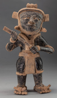 Vera Cruz Standing Figure with Club c. 600 - 900 AD