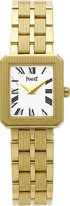 Estate Jewelry:Watches, Piaget Lady's Gold Protocole Wristwatch. ...