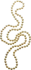 Estate Jewelry:Necklaces, Cultured Pearl Necklace. ...