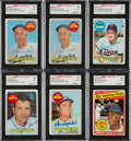 Baseball Cards:Lots, 1960's - 2000's Multi-Brand Baseball Signed Cards Collection (400+)....