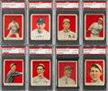 Baseball Cards:Lots, 1915 Cracker Jack Baseball PSA Graded Collection (11). ...
