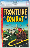 Golden Age (1938-1955):War, Frontline Combat #14 (EC, 1953) CGC VF/NM 9.0 Off-white to white pages....